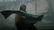 RDR2 - Legendary Steelhead Trout 01