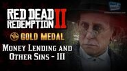 RDR2 PC - Mission 14 - Money Lending and Other Sins III Replay & Gold Medal