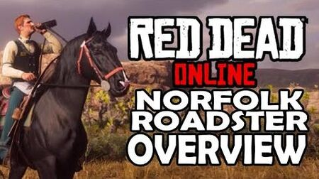 Red Dead Online Horses - Norfolk Roadster Overview