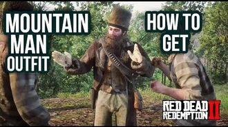 Red Dead Redemption 2 - How To Get Mountain Man Outfit! Location Guide