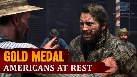 Red Dead Redemption 2 - Mission -9 - Americans at Rest -Gold Medal-
