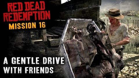 Red Dead Redemption - Mission 16 - A Gentle Drive With Friends (Xbox One)