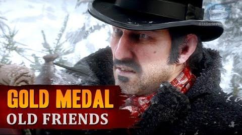 Red Dead Redemption 2 - Mission 3 - Old Friends Gold Medal