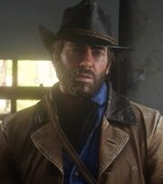 RDR2 Arthur Morgan Default
