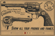 Cattleman Revolver RDR2 Wheeler Rawson and Co
