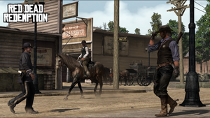 Marston Tipping his Hat