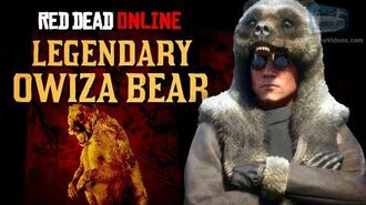 Red Dead Online - Legendary Owiza Bear Location Animal Field Guide