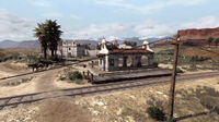 Rdr las hermanas train station