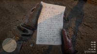 Red dead 2 letter to Bonnie MacFarlane front