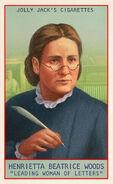 Prominent Americans Card Henrietta Beatrice Woods