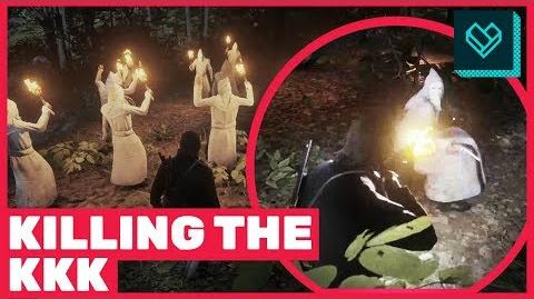 Killing the Ku Klux Klan in Red Dead Redemption 2