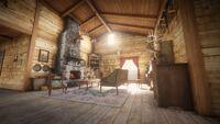 Beecher's Hope Living Room RDR2