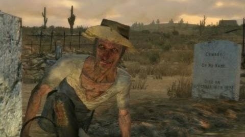 """Red Dead Redemption - mission """"Exhuming and Other Fine Hobbies"""""""