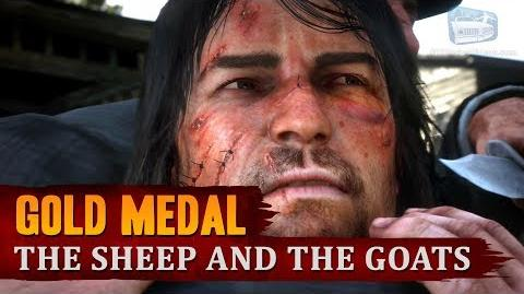 Red Dead Redemption 2 - Mission -23 - The Sheep and the Goats -Gold Medal-