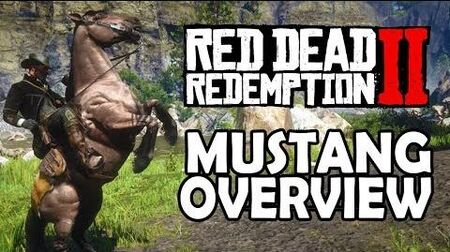 Red Dead Redemption 2 Horses - Mustang Overview