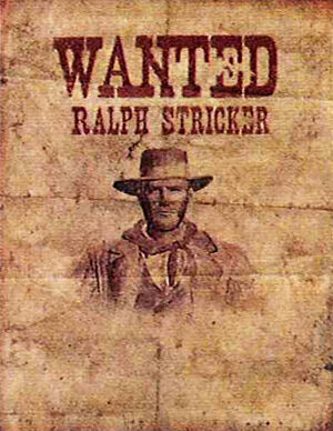Rdr ralph stricker