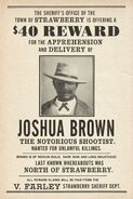 Joshua-brown poster