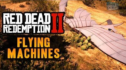 Red Dead Redemption 2 Easter Egg 8 - Flying Machines