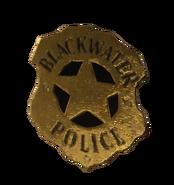 Blackwater Police Department badge