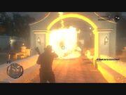 Fire bottle explosion