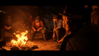 RDR 2 Trailer 3 Bon Fire