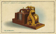 Amazing Inventions Card Telegraph