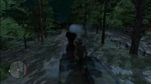 Red Dead Redemption - Train at Night - HD