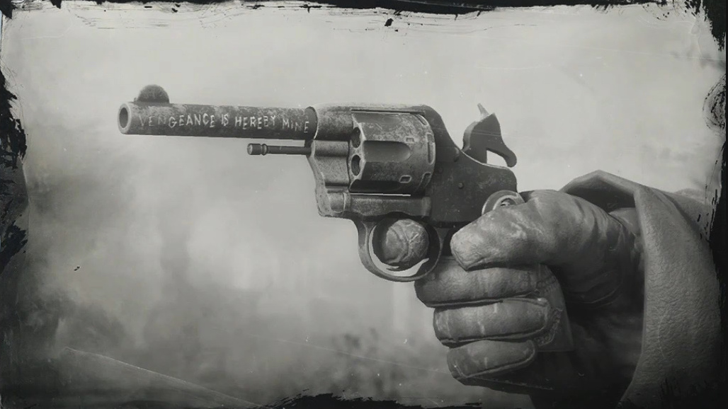 Micahs Revolver Red Dead Wiki Fandom Powered By Wikia