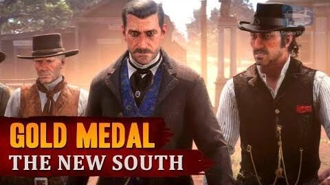 Red Dead Redemption 2 - Mission 26 - The New South Gold Medal