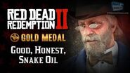RDR2 PC - Mission 16 - Good, Honest, Snake Oil Replay & Gold Medal