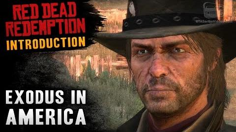 Red Dead Redemption - Intro & Mission 1 - Exodus in America (Xbox One)