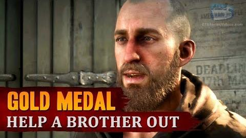 Red Dead Redemption 2 - Mission 48 - Help a Brother Out Gold Medal