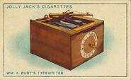 Amazing Inventions Card Typewriter