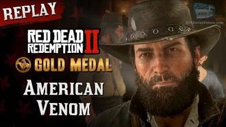 RDR2 PC - Mission 104 - American Venom Replay & Gold Medal