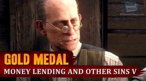Red Dead Redemption 2 - Mission 45 - Money Lending and Other Sins V Gold Medal