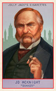 Prominent Americans Card J. D. McKnight