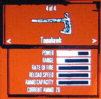 Rdr tomahawk