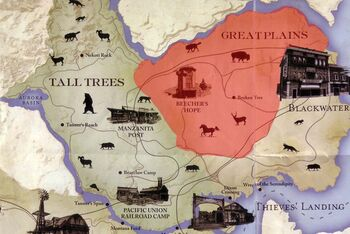 Red Dead Redemption Us Map.American Buffalo Red Dead Wiki Fandom Powered By Wikia