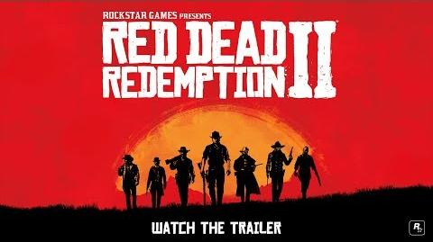 Red Dead Redemption 2 Debut Trailer
