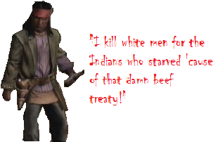 I kill white