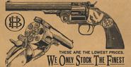 Schofield Revolver RDR2 Wheeler Rawson and Co