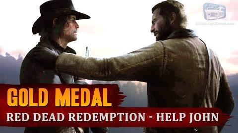 Red Dead Redemption 2 - Final Mission - Red Dead Redemption -Help John get to safety-