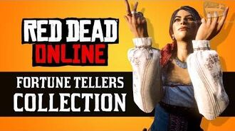 Red Dead Online - Fortune Tellers Collection Locations Madam Nazar Weekly Collection