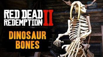 Red Dead Redemption 2 - All Dinosaur Bones Locations Guide