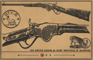 Carbine Repeater RDR2 Wheeler Rawson and Co