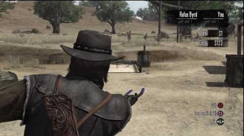 Red Dead Redemption - What About Hand Grenades Trophy - Horseshoe Ringer