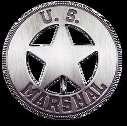 The US Marshal Badge