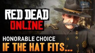 Red Dead Online - Mission 3 - If the Hat Fits... (Honorable) Gold Medal