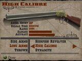 High Calibre Rifle