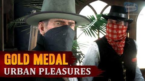 Red Dead Redemption 2 - Mission 54 - Urban Pleasures Gold Medal